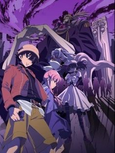 Mirai Nikki is a twisted phychological thriller anime based on the manga written and illustrated by Sakae Esuno. It tells the story of Amano Yukiteru,...