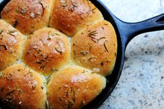 Buttered Rosemary Rolls - Pioneer Woman - these are the absolute best!
