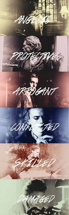 Character Traits: Jace Wayland P.s. simple quest for everyone) Why did Bill die?