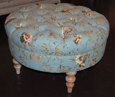 Crestwood Tufted Ottoman  Available at homegallerystores.com
