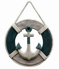 Image result for how to make a wooden anchor wall decor