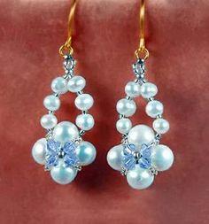 Earrings free pattern