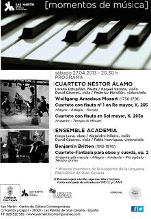 Música Clásica - 27/04: Música de Camara en San Martín CCC