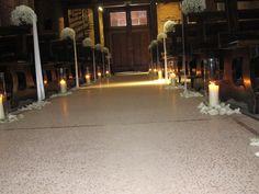 navata con candele