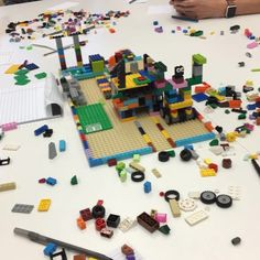 Exercise in agile development with Legos. Took me back to my childhood. Who says learning to code can't be fun.  #entrepreneur #hacker #entrepreneurship #code #business  #fitness  #work #success #grind  #runner #startup #angular  #developer #workout #hustle  #java #successful #passion #digitalnomad #html #css #javascript #motivational #motivation #lifestyle #happiness #ruby #dev  #dev #juniordeveloper
