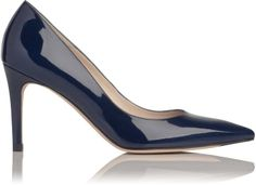 LK Bennett Floret Patent Leather Point Toe Court on shopstyle.co.uk