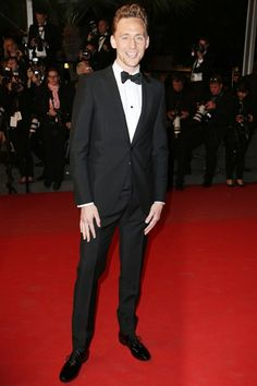 British GQ's Most Stylish Men Of The Week 31.05.13: Tom Hiddleston - Frankly if you're going to be standing next to the elegant Tilda Swinton on the red carpet for the next few months, you better invest in Alexander McQueen.