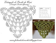 Granny Bunting - from Falando de Crochet