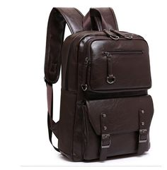 Cheap bag kate, Buy Quality bags boston directly from China bag resealer Suppliers: 2017 Korean Style Men Backpack Top Quality Leather Double Shoulder Bags School Bag Book Rucksack for Male Travel Tote Bagpack Computer Backpack, Men's Backpack, Faux Leather Backpack, Pu Leather, College Book Bag, Grunge Shoes, Boots And Leggings, Ankle Shoes, Cheap Bags