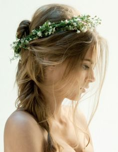 perfect country wedding bridal hairstyle