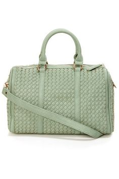 Let the Even Weavin's Sage Green Handbag by Urban Expressions weave its way into your wardrobe! Sage green vegan leather bag in an allover basketweave. Best Handbags, Fashion Handbags, Ladies Handbags, Fashion Bags, Green Handbag, Green Bag, Bags Online Shopping, Tote Backpack, Travel Bags