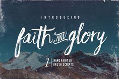 Faith & Glory by Set Sail Studios on Creative Market