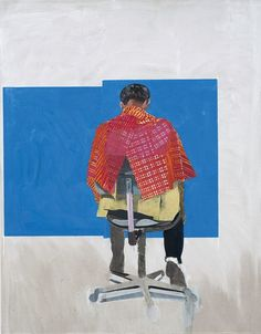 Peter's Sitters 2 2009 Hurvin Anderson (via Thomas Dane Gallery ) I discovered the paintings of Hurvin Anderson today via the new Saatc. Artist Painting, Figure Painting, Painting & Drawing, Painting Inspiration, Art Inspo, Illustrations, Illustration Art, Appropriation Art, Gouache