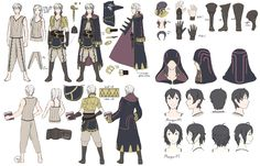Fire Emblem Male & Female Avatar