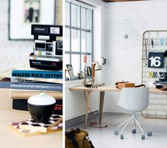 the Danish magazine Bolig Liv, with some interesting ideas of working spaces