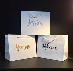 Personalised Gift Bag /Bridesmaid / Best Man/ Mother of the