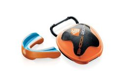 Shock Doctor Gel Nano Mouthguard and Case - Orange Adult by Shock Doctor. $23.99