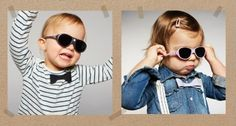 Las gafas de sol @kietlafrance no son solo el complemento de moda son elementos de saludo visual!  Protege a tu pequeño de los rayos UV también en #otoño !