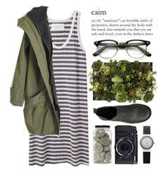 Accesorise a simple dress