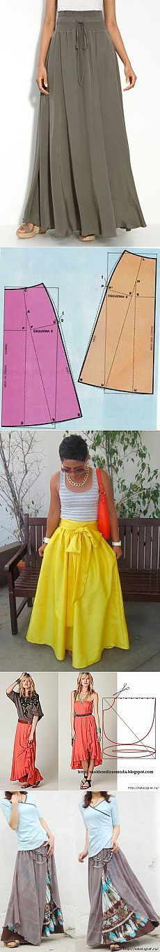 Amazing Sewing Patterns Clone Your Clothes Ideas. Enchanting Sewing Patterns Clone Your Clothes Ideas. Skirt Patterns Sewing, Clothing Patterns, Pattern Sewing, Pattern Drafting, Coat Patterns, Blouse Patterns, Skirt Sewing, Diy Clothing, Sewing Clothes
