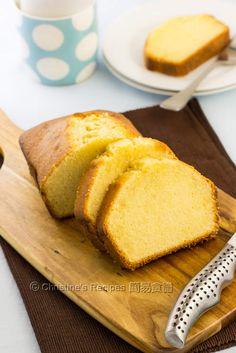牛油磅蛋糕【香濃好味茶點】 Butter Pound Cake from 簡易食譜