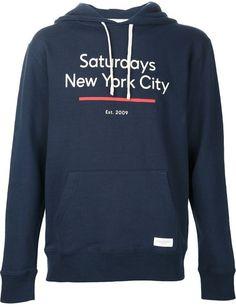 Saturdays Surf Nyc underline hoodie