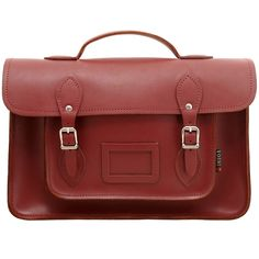 Yoshi Belforte Satchel / Large Leather Work Bag School Bag University or College Bag by Yoshi Lichfield Autumn Winter 2012 AW12 - £65.00 available from www.kubi.co.uk