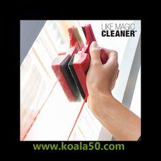 Limpiacristales Magnético Like Magic Cleaner - 11,18 €  Con el novedoso limpiacristales magnético Like Magic Cleaner será mucho más fácil y cómodo limpiar los cristiales tu hogar. Gracias a sus dos imanes, los dos dispositivos de limpieza permanecen...  http://www.koala50.com/ideas-para-el-hogar/limpiacristales-magnetico-like-magic-cleaner