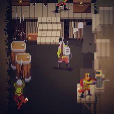 Resultado de imagen de pixelart steampunk character