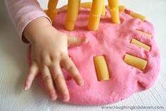 fine motor skills - Dough and Noodles