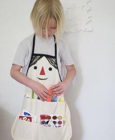 Kids Apron Pattern   Mer Mag
