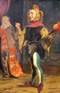 """The Court Jester"" Thomas Davidson (1877)"