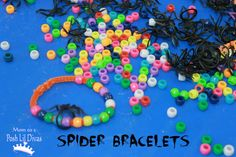 Spider Bead Bracelets