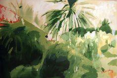 """Saatchi Online Artist Görkem Dikel; Painting, """"Palm Trees"""" #art"""