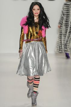 Betsey Johnson Fall 2014 Ready-to-Wear Collection Slideshow on Style.com