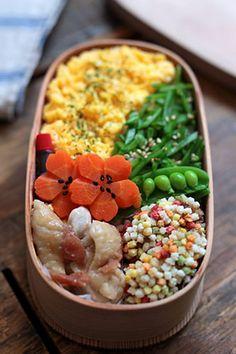 lunch box (obento) ある日のお弁当