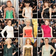 So which outfit was your favourite? Were there any style surprises? Oscars 2012: Who Wore What  - www.fabsugar.com