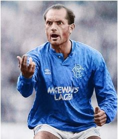 Ray Wilkins of Rangers in 1987.