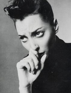 "Christy Turlington Vogue Italia July 1994 ""Sophisticated Glamour"" Photographer: Steven Meisel"