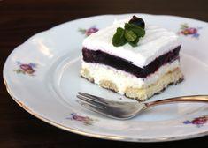 Recept na výborný nepečený smotanový zákusok. Ovocie môžete použiť čerstvé, mrazené alebo kompót. No Bake Pies, No Bake Cake, Dessert Recipes, Desserts, Cheesecake, Food And Drink, Pudding, Treats, Baking Cakes