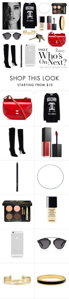 """""""Ootd - 11.6.15 / 6.11.15 - casual & put together"""" by emilygrande ❤ liked on Polyvore featuring Chloé, Moschino, Jimmy Choo, Smashbox, NARS Cosmetics, Bling Jewelry, Too Faced Cosmetics, Chanel, Christian Dior and Stella & Dot"""