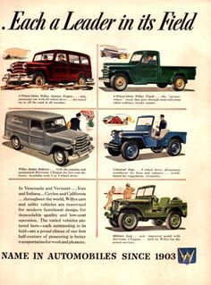 1940s jeeps