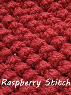 Raspberry Stitch – Free Crochet Pattern
