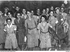 1942. Bangka Island Massacre. 23 nurses captured by the Japanese were ordered to walk into the ocean where they were then slaughtered by machine guns.