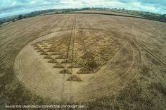 Crop Circle ha sido reportado el 3 de agosto 2016. Este crop circle apareció en Chilcomb Ranges, Nr Winchester, Hampshire, Reino Unido.
