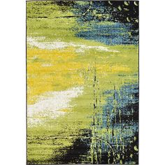 Found it at Wayfair - Silver Hills Light Green Area Rug