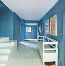 Image Result For Crown Molding And Baseboard Same Color As Walls Cooks Blue Farrow Ball