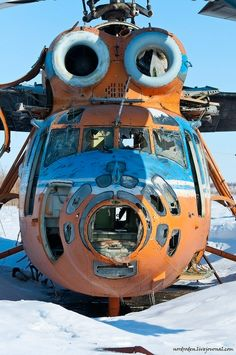 bassman5911:  A bit of sadness – Mi-6 (via Helicopters Dead And Alive | English Russia)