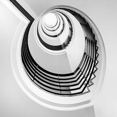 "*Spiral Staircase - ""Yin & Yang"""