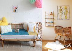 Estilo vintage para el cuarto del bebé - Para bebés - Charhadas.com